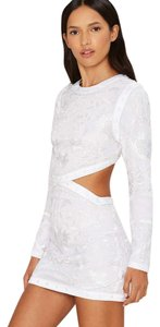 Nasty Gal Embroidered Lace Dress