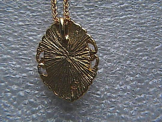 Unknown 14k Yellow Gold overlay Cameo Necklace