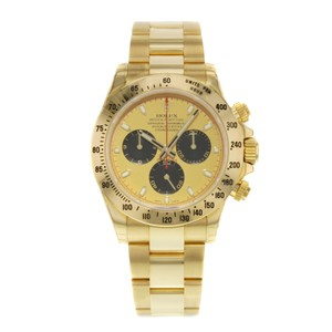 Rolex Rolex Daytona 116528 pn 18K Yellow Gold Automatic Men's Watch (15062)