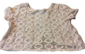 Forever 21 #crop #knit White knit Halter Top