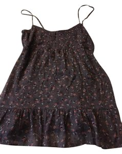 American Eagle Outfitters Top Purple floral