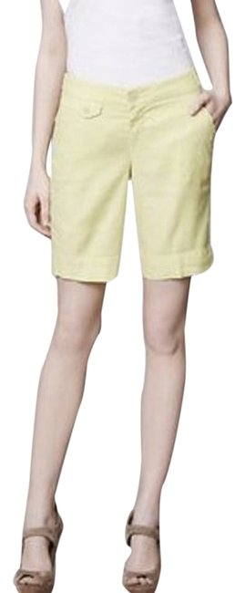 Preload https://item3.tradesy.com/images/anthropologie-chartreuse-level-99-bermuda-shorts-size-12-l-32-33-2029352-0-0.jpg?width=400&height=650