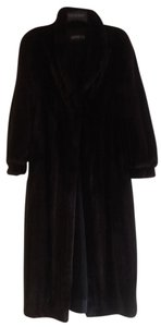 Adolfo Mink Fur Coat