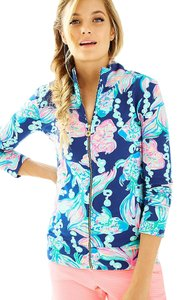 Lilly Pulitzer Going Coastal Reagan Raegan Popover Jacket Sweater
