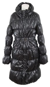 H&M Coat Black Winter Jacket