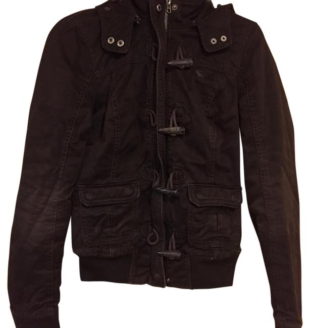 Abercrombie & Fitch Brown Coat Size 4 (S) Abercrombie & Fitch Brown Coat Size 4 (S) Image 1