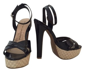 Chinese Laundry Black patent leather Platforms