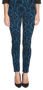 CeCe by Cynthia Steffe Teal black Leggings