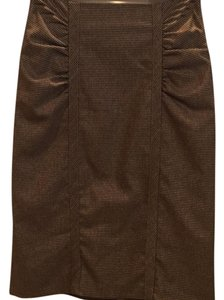 Nanette Lepore Skirt brown and tan