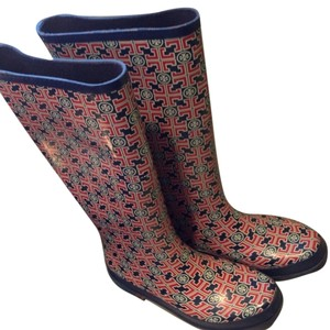 Tory Burch Multi Colored Boots