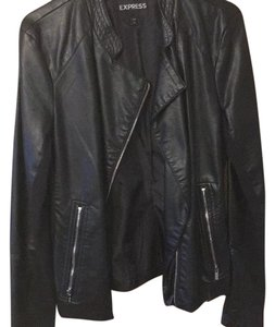 Express black Leather Jacket