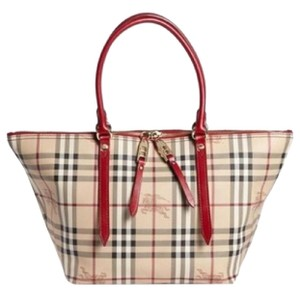 Burberry Tote in Red