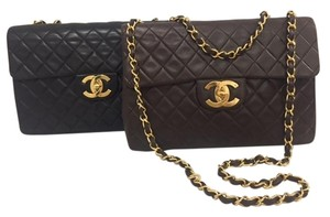 Chanel Maxi Gold Hardware Vintage Shoulder Bag