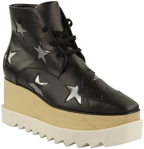 Stella McCartney Star Elyse Sneaker Hidden black Platforms