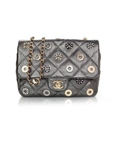 Chanel Medals Perforated Shoulder Bag