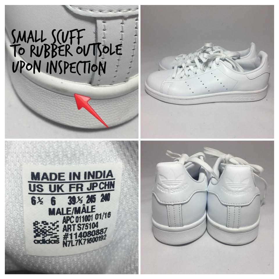 sports shoes 89cb7 72269 adidas White Stan Smith S75104 Sneakers Size US 8 Regular (M, B) 6% off  retail
