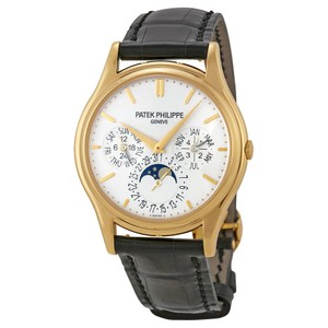 Patek Philippe Grand Complication White Dial 18kt Yellow Gold Men's Watch 5140J-001