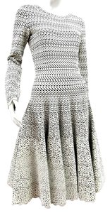 ALAA Alaia Fit And Flare Knit Dress