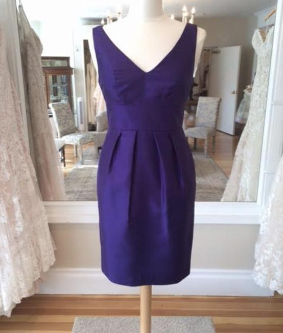 Item - Violet Luxe Shantung Cadie Formal Bridesmaid/Mob Dress Size 2 (XS)