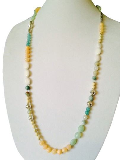Preload https://img-static.tradesy.com/item/2029455/nakamol-peachturquoise-peachturquoise-long-mixed-stone-necklace-0-0-540-540.jpg