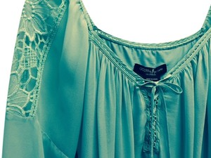 Guess By Marciano Embroidered Top aqua
