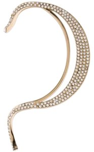 Dior Christian Dior Bijou D'Oreille Ear Cuff Gold with Pave Crystals