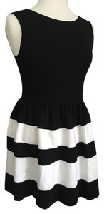 Love Ady short dress Black / white on Tradesy