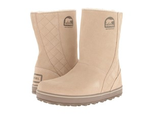 Sorel Distressed Ankle Beige Boots