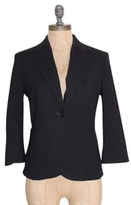 French Connection 3/4 Sleeves Night Out Evening Business BLACK Blazer