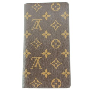 Louis Vuitton #9679 Monogram Long Bifold Bi-Fold Wallet