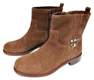 Tory Burch Alaina Ankle Flat Brown Boots