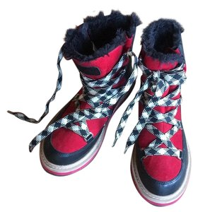Kate Spade black, red, and white Boots