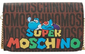 Moschino Browm Clutch