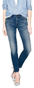 J.Crew Toothpick Ankle Skinny Jeans-Light Wash