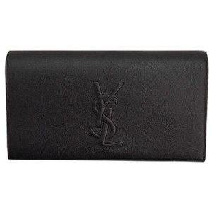 Saint Laurent Navy Clutch