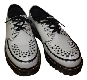 Dr. Martens White and Black Boots