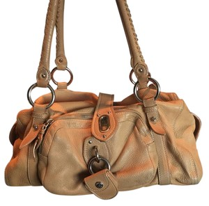 Miu Miu Soft Leather Tote in Beige