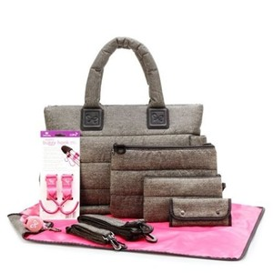 CiPU Baby Diaper Bag with 13 Compartments & 9 Bag Accessories - Waterproof