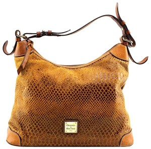 Dooney & Bourke Animal Print Snakeskin Hobo Bag