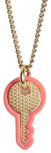 Marc by Marc Jacobs Nwt Key Pendant Necklace