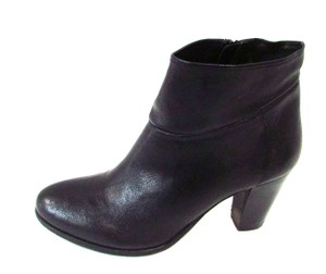 Steve Madden Warned Leather Ankle Black Boots