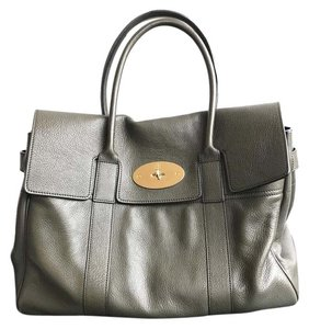 Mulberry Leather Top Handle Bayswater Satchel