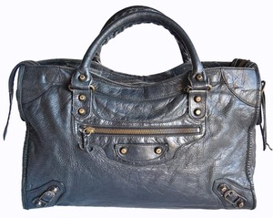 Balenciaga City Black Classic Satchel