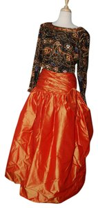 Victoria Royal Ltd Silk Beaded Sequin Ball Gown Prom Dress