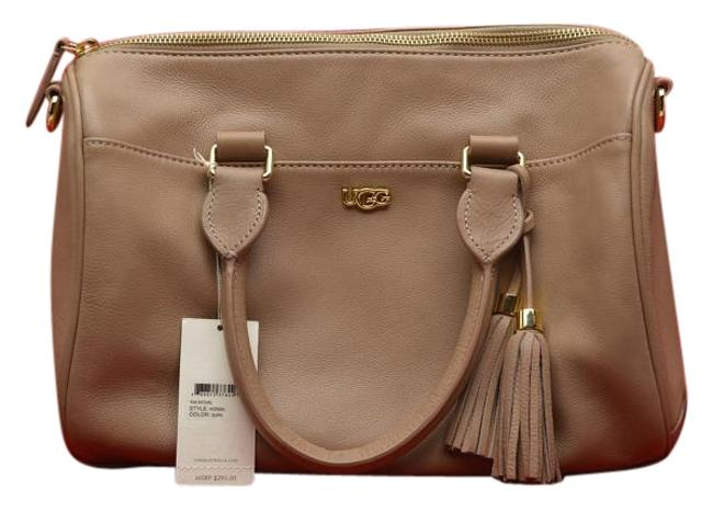 Item - New Handbag Taupe Leather Satchel
