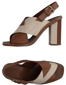 Tory Burch Camel Sandals