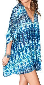Show Me Your Mumu Printed Bohemian Swing Oversized Tunic