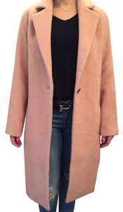 Halston Tea Length Evening Classic Textured Party Trench Coat