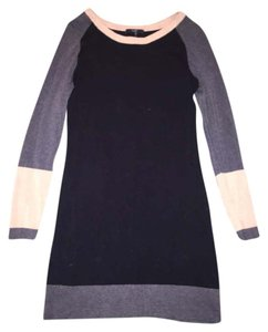 Tart short dress Black, grey, beige on Tradesy