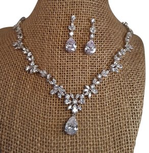 Brilliant Picture Perfect Bridal Cubic Zirconia Jewelry Set